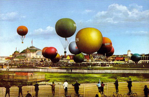 FOTOS RETRO… La Exposición Internacional de Airship, 1909