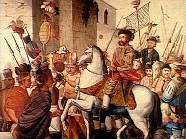 Memoria Política de México…  Hernán Cortés entra pacíficamente a Mexico-Tenochtitlan
