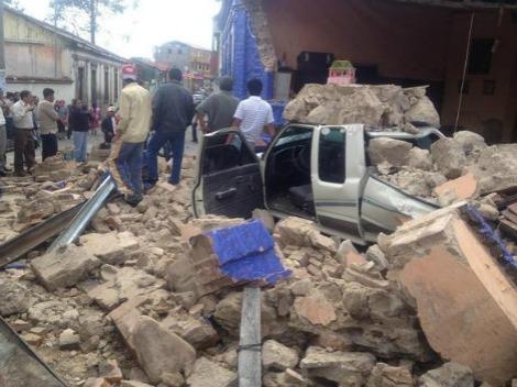 Un terremoto de 7,5 grados sacude la costa pacífica de Guatemala