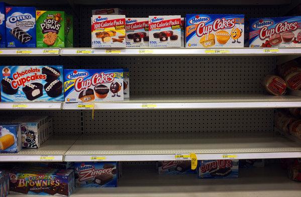 Compras masivas de Twinkies ante inminente desaparición