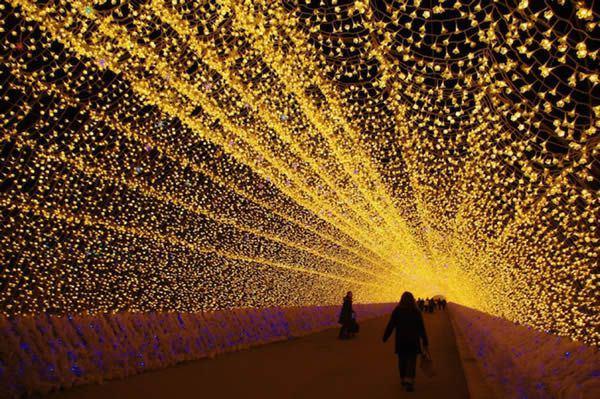 Luces de invierno en Japón