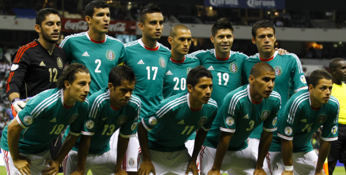 México cierra el 2012 como #15 según la FIFA