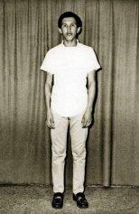 Hugo Chávez antes de entrar a la Academia Militar en Caracas en 1971. Se hizo militar porque vio que ahí podía jugar beisbol.