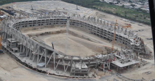 Nuevo estadio de monterrey